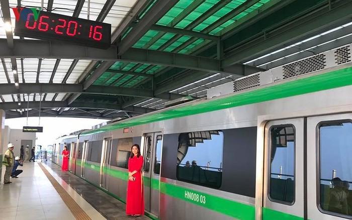Dự án đường sắt đô thị Cát Linh - Hà Đông chưa biết ngày đưa vào khai thác thương mại.