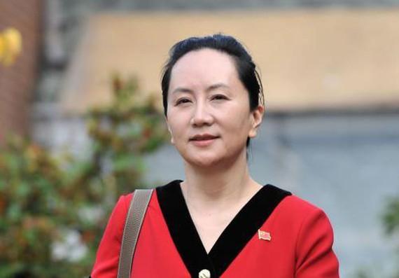 Giám đốc tài chính Huawei Mạnh Vãn Châu tới phiên tòa ở British Columbia, Canada ngày 1-10-2019.