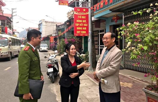 Mô hình camera an ninh trên địa bàn phường Nguyễn Thái Học, thành phố Yên Bái phát huy hiệu quả.