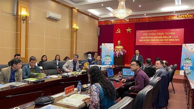 Hội thảo do Sở GD-ĐT phối hợp với Công ty VEPIC về sách giáo khoa lớp 6.