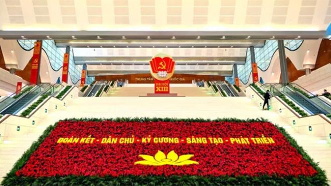 Sáng 26/1, Đại hội lần thứ XIII của Đảng sẽ họp phiên Khai mạc tại Trung tâm Hội nghị Quốc gia Mỹ Đình.