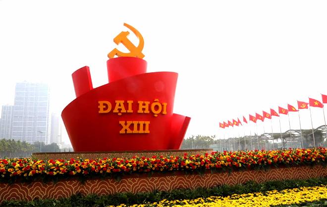 Đại hội đại biểu toàn quốc lần thứ XIII của Đảng có sự tham gia của 1.587 đại biểu, đại diện cho gần 5,2 triệu đảng viên.