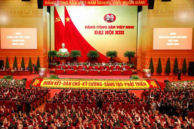 Quang cảnh Đại hội XIII.