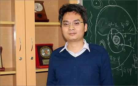 Tân giáo sư trẻ nhất năm 2017 Phạm Hoàng Hiệp.