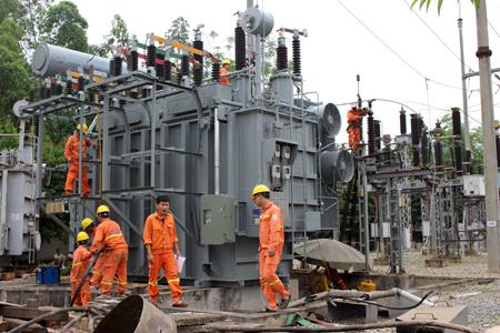 Nhiều công trình điện dự kiến được đưa vào vận hành trong thời gian tới.