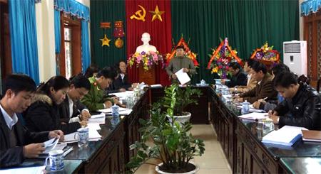 Tăng cường kiểm tra giám sát, góp phần xây dựng Đảng trong sạch, vững mạnh luôn được Ban Thường vụ Huyện ủy Mù Cang Chải quan tâm chỉ đạo.