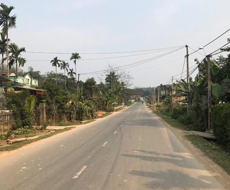 Tiêu chí đường giao thông luôn được xã Việt Thành chú trọng đầu tư.