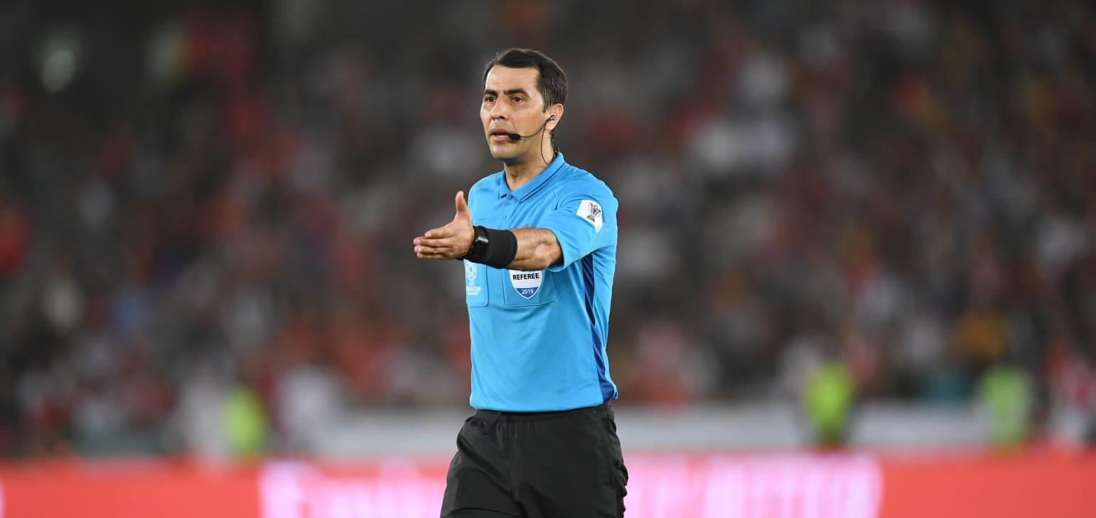 Trọng tài hàng đầu châu Á Ravshan Irmatov sẽ điều khiển trận chung kết Asian Cup 2019.