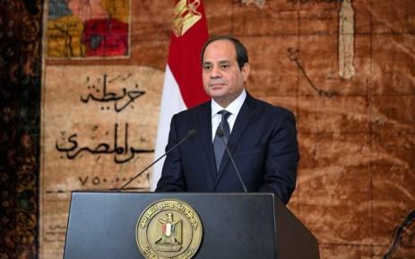 Tổng thống Ai Cập Abdel-Fattah El-Sisi.