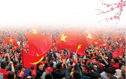 Năm 2018, Việt Nam lên duyên với bóng đá.