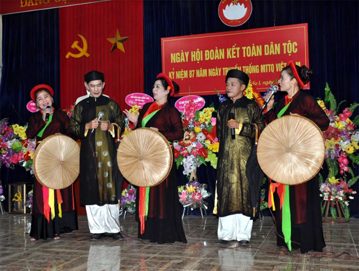 Ngày hội Đại đoàn kết toàn dân tộc được MTTQ các cấp tổ chức vui tươi, sôi động tại các khu dân cư.