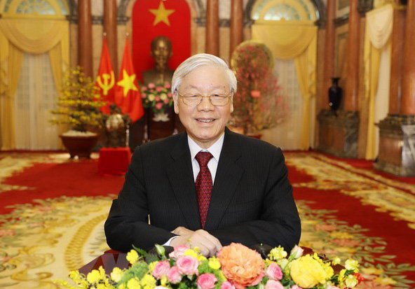 Tổng Bí thư, Chủ tịch nước Nguyễn Phú Trọng.