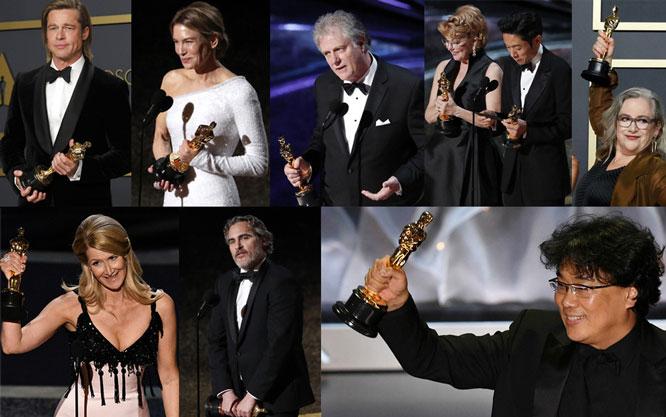 Các nghệ sĩ nhận tượng vàng Oscar lần thứ 92.