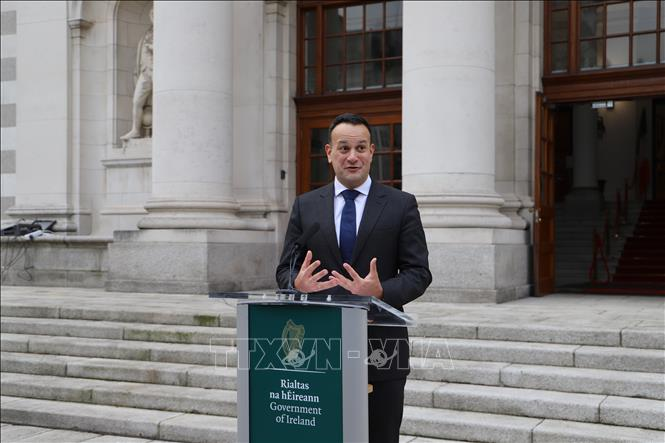 Thủ tướng Ireland Leo Varadkar.