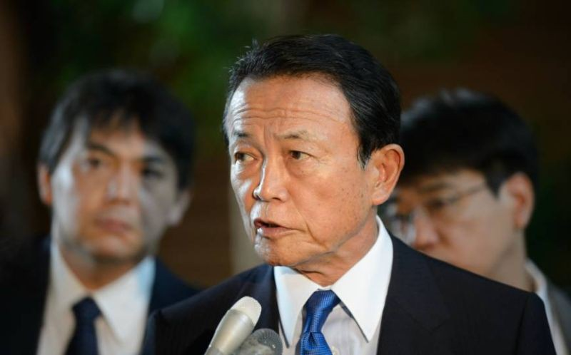 Bộ trưởng Tài chính Nhật Bản Taro Aso.