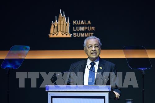 Thủ tướng Malaysia Mahathir Mohamad phát biểu tại Kuala Lumpur, Malaysia.