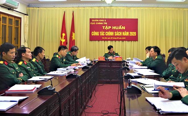 Quang cảnh Hội nghị tập huấn.