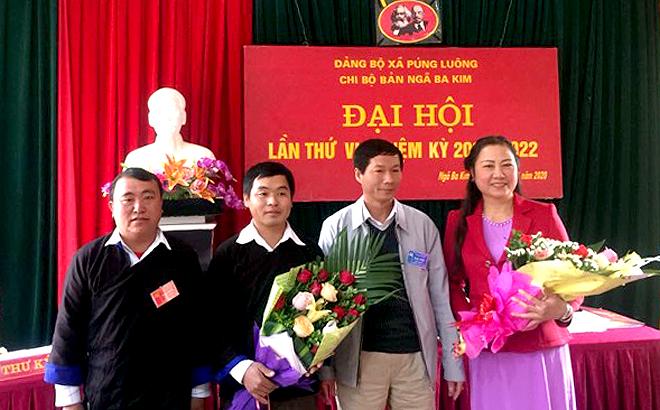 Đại hội Chi bộ Bả1n Ngã Ba Kim (Đảng bộ xã Púng Luông, huyện Mù Cang Chải) lần thứ VI, nhiệm kỳ 2020 - 2022.