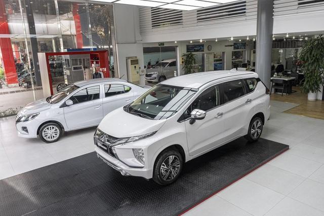 Mitsubishi Xpander có doanh số các tháng tương đối ổn định.