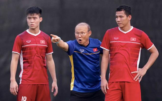 HLV Park Hang-seo xem trọng và quyết tâm đạt mục tiêu ở vòng loại World Cup.