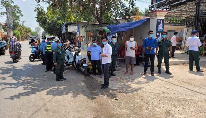 Campuchia tiếp tục phát hiện hàng chục ca lây nhiễm Covid-19 trong cộng đồng.