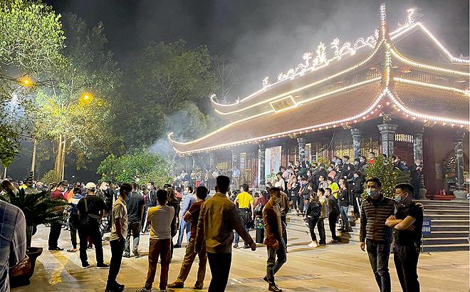 Do ảnh hưởng của dịch COVID-19, huyện Văn Yên đã điều chỉnh quy mô tổ chức lễ hội theo hướng chỉ tổ chức phần nghi lễ truyền thống và không tổ chức phần hội.