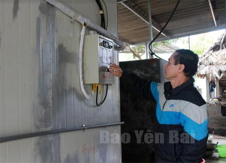 Nhiệt độ nhà lạnh luôn được ông Trần Khánh Toàn duy trì ở mức 18oC.