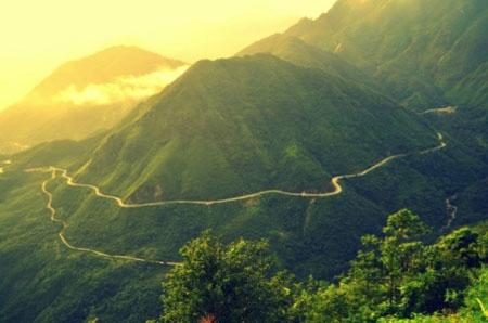 Kết quả hình ảnh cho đèo khau phạ