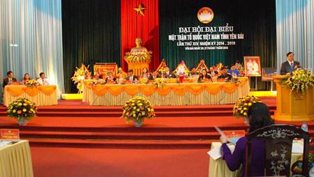 Đại hội đại biểu Mặt trận Tổ quốc Việt Nam tỉnh Yên Bái lần thứ XIV. (Ảnh minh hoạ)
