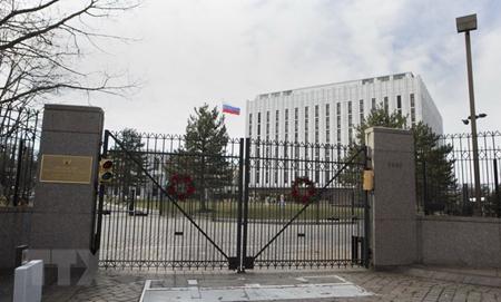 Đại sứ quán Nga tại thủ đô Washington, Mỹ.