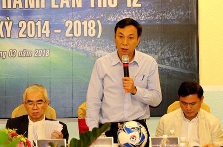 Ông Trần Quốc Tuấn, Phó Chủ tịch thường trực VFF khóa VII