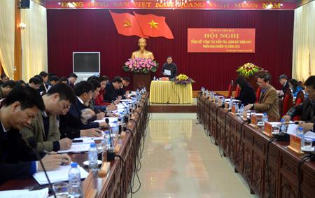 Nâng cao chuyên môn, nghiệp vụ cán bộ làm công tác KTGS của Đảng được đồng chí Dương Văn Thống - Phó Bí thư Thường trực Tỉnh ủy chỉ đạo cấp ủy cơ sở thực hiện tốt, tại Hội nghị tổng kết công tác KTGS năm 2017.