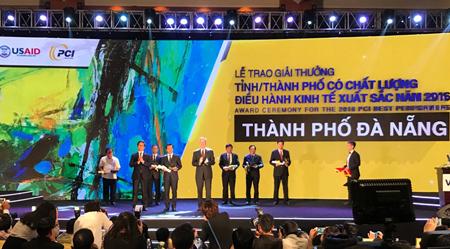 Hình ảnh tại lễ công bố chỉ số PCI 2016.