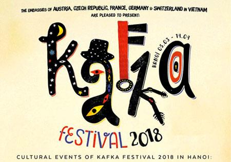 Kafka Festival 2018 là chuỗi sự kiện văn hóa kỷ niệm 135 ngày sinh của nhà văn Franz Kafka.