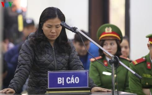 Bị cáo Lê Thị Lan Thanh tiếp tục kêu oan đối với tội danh