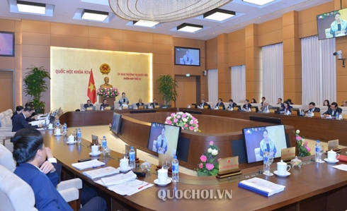 Phiên họp 32 Ủy ban Thường vụ Quốc hội