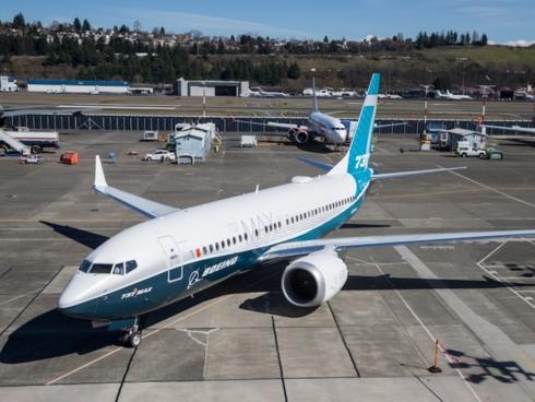 Máy bay Boeing 737 Max.