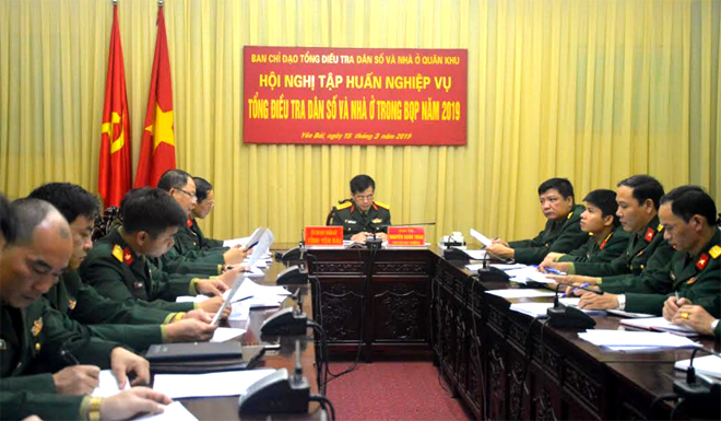 Các đại biểu dự tập huấn tại điểm cầu Yên Bái
