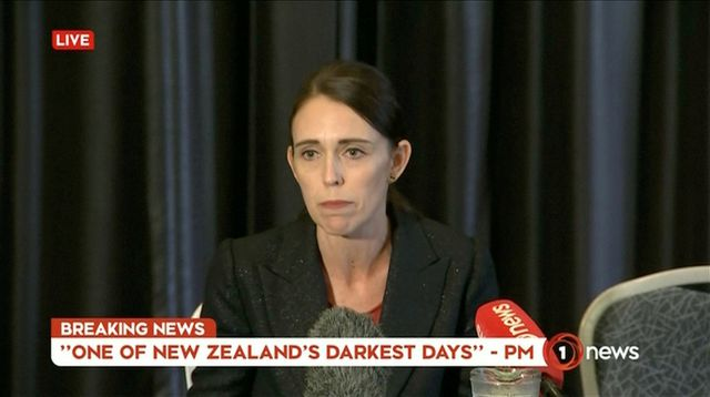 Thủ tướng New Zealand Jacinda Ardern (