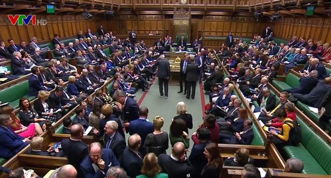 Toàn cảnh phiên họp của Hạ viện Anh.