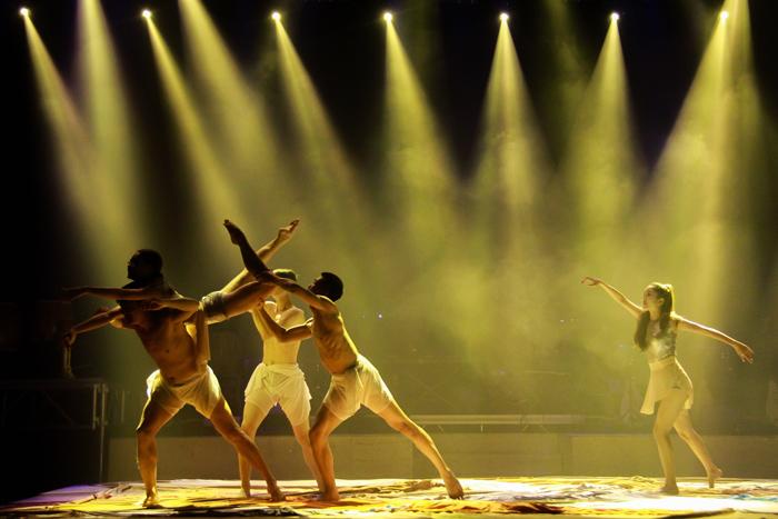 Một tiết mục múa trong chương trình