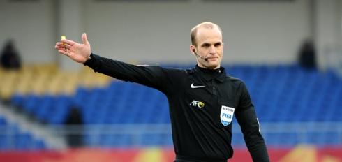 Trọng tài Mohamad Makhadmeh bắt chính trận U23 Việt Nam - U23 Brunei.