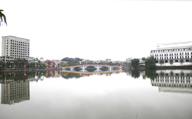 A corner of Yen Hoa Park in Yen Bai city