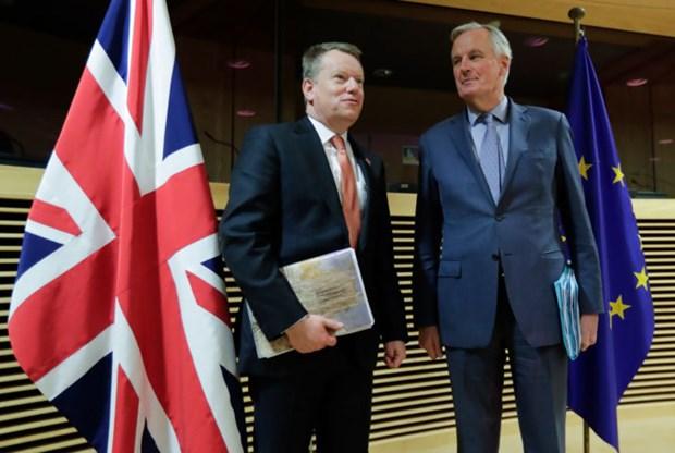 Đàm phán thương mại Brexit vòng hai bị hoãn do Brexit.