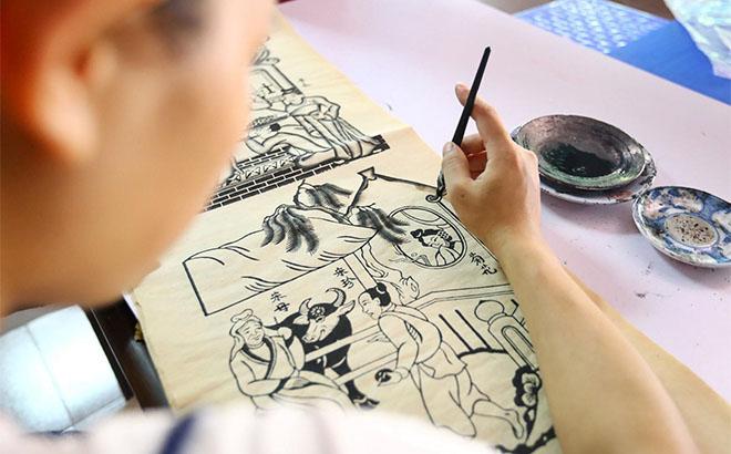 Nghề làm tranh dân gian Đông Hồ được đưa vào Danh mục di sản văn hóa phi vật thể quốc gia từ năm 2012.