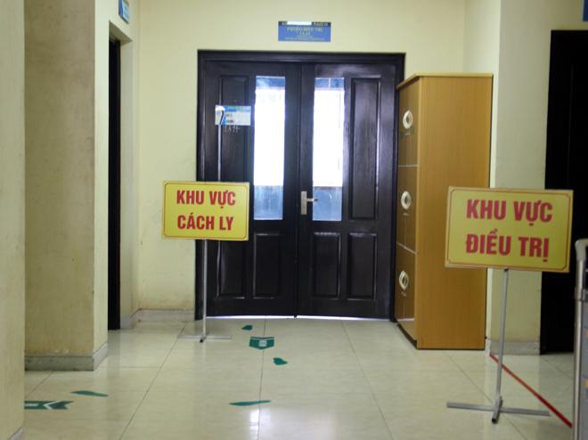 Khu vực cách ly điều trị người bệnh Covid - 19 tại Bệnh viện Đa khoa tỉnh.