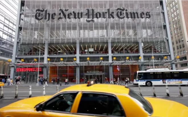 The New York Times là một trong các tờ báo của Mỹ mà các nhà báo sẽ bị ảnh hưởng.