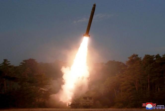 Vụ phóng hồi đầu tháng Ba của Triều Tiên.