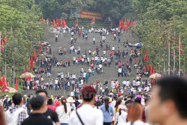 Năm nay, Giỗ Tổ Hùng Vương - lễ hội Đền Hùng không tổ chức phần hội. (Ảnh chỉ mang tính minh họa)
