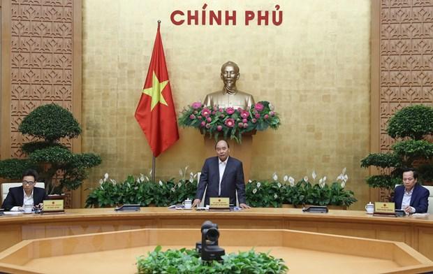 Thủ tướng Nguyễn Xuân Phúc phát biểu.